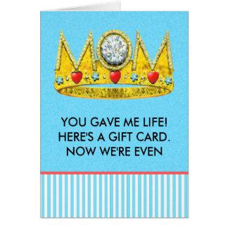 tarjeta divertida del día de madres