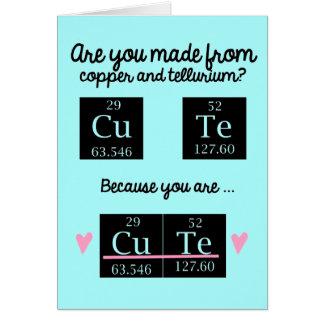 Tarjeta divertida del día de San Valentín de la