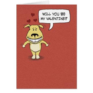 Tarjeta divertida del el día de San Valentín: Chep