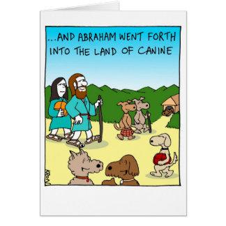 Tarjeta divertida para Rosh Hashanah - tierra del