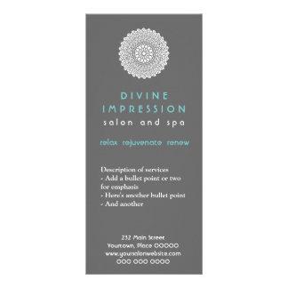 Tarjeta divina del estante de la impresión lona publicitaria