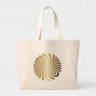 Tarjeta Dorada Horizontal Large Tote Bag