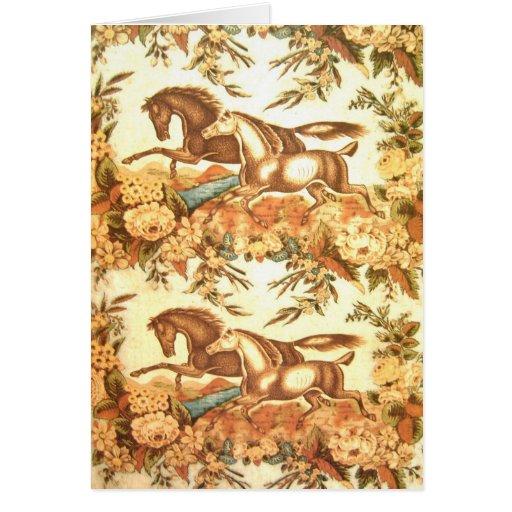 Tarjeta ecuestre 1 de la invitación del caballo de