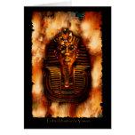 Tarjeta egipcia antigua del Pharaoh de VISION de T