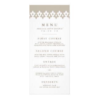 Tarjeta el | Champán del menú del boda del Diseño De Tarjeta Publicitaria