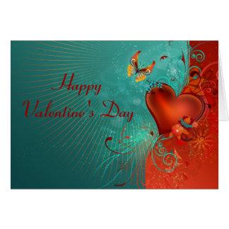 Tarjeta: El día de San Valentín