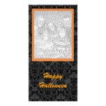 Tarjeta elegante de la foto de Halloween Tarjetas Fotograficas Personalizadas