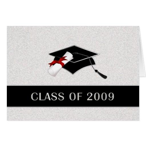 Tarjeta elegante de la graduación - invitaciones | Zazzle
