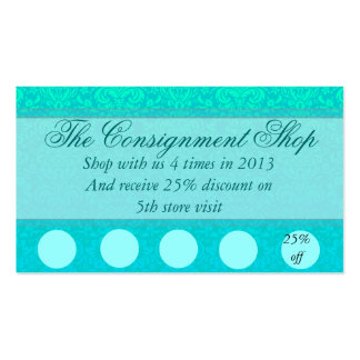 Tarjeta elegante de la promoción del descuento tarjetas de visita