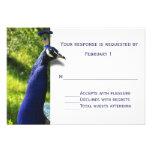 Tarjeta elegante de RSVP de la respuesta del boda  Invitación Personalizada
