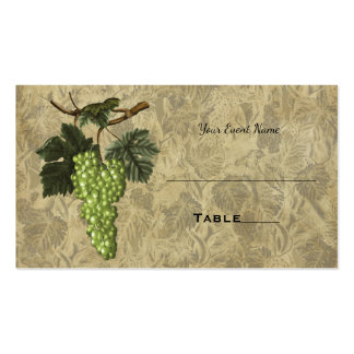Tarjeta elegante del asiento de la tabla del boda tarjetas de visita