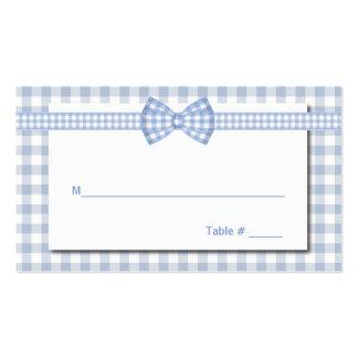Tarjeta elegante del lugar del boda del país de la tarjeta de negocio