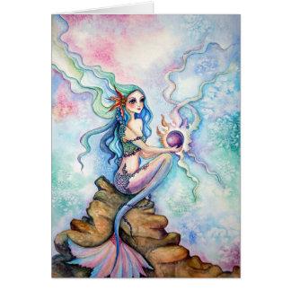 Tarjeta en blanco - la hija del océano