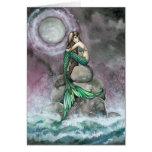 Tarjeta esmeralda del arte de la fantasía de la si