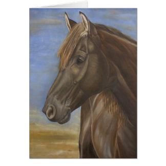 Tarjeta española II del caballo