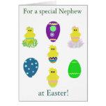 Tarjeta especial de los huevos de Pascua del sobri