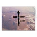 Tarjeta/estación espacial internacional