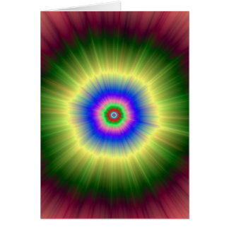 Tarjeta estupenda de Nova del arco iris