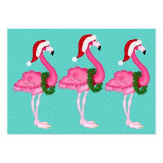Tarjeta/etiqueta del recinto del navidad del tarjetas de visita grandes
