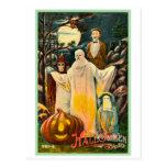Tarjeta fantasmagórica del kitsch retro del vintag postales