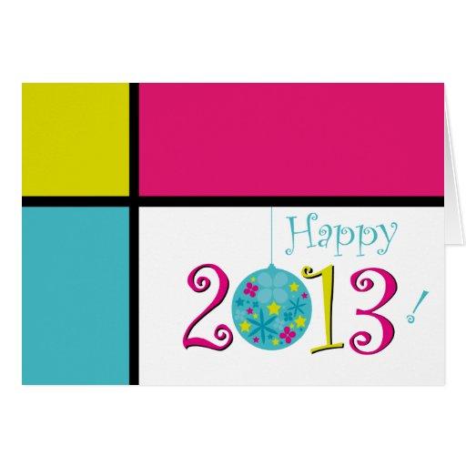 Tarjeta feliz 2013