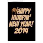 Tarjeta feliz 2014 del camello del día de chepa de