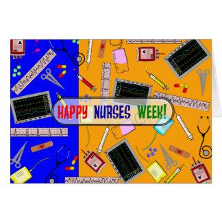 Tarjeta feliz #20 de la semana de las enfermeras
