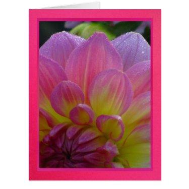 Tarjeta - Feliz Cumpleaños - La Dalia Púrpura Large Greeting Card