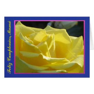 Tarjeta - Feliz Cumpleaños, Mamá - La versión 2 Card
