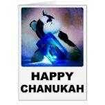 Tarjeta feliz de Chanukah