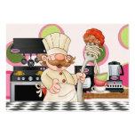 Tarjeta feliz de la cocina del cocinero - SRF Plantilla De Tarjeta De Negocio