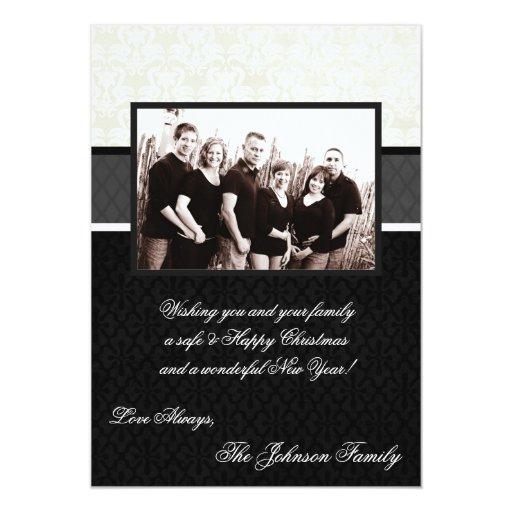 tarjeta feliz de la FOTO del día de fiesta de Invitación 12,7 X 17,8 Cm