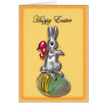Tarjeta feliz de Pascua #1