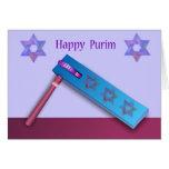 Tarjeta feliz de Purim