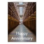 Tarjeta feliz del aniversario de Alcatraz