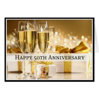 Tarjeta feliz del aniversario de la diva 50.a