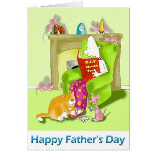 tarjeta feliz del día de padres