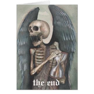 tarjeta feliz del día del juicio final el armagedd