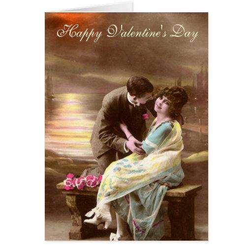 Tarjeta feliz del el día de San Valentín - ll del