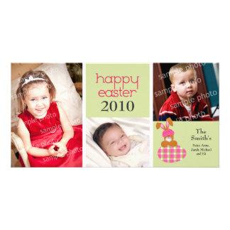 Tarjeta feliz dulce modificada para requisitos par tarjeta fotografica personalizada