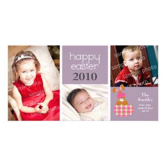 Tarjeta feliz dulce modificada para requisitos par tarjetas con fotos personalizadas