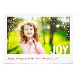 Tarjeta festiva Groupon de la foto de la alegría Anuncio Personalizado
