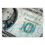 Tarjeta financiera de la prosperidad