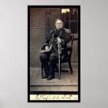 Tarjeta firmada de general Winfield Scott 1858 Impresiones