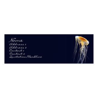 Tarjeta flaca - cordón de deriva plantillas de tarjetas personales