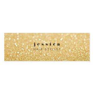 Tarjeta flaca del estilista contemporáneo del bril plantillas de tarjeta de negocio