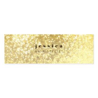 Tarjeta flaca del estilista contemporáneo del bril tarjetas de visita mini