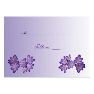 Tarjeta floral del acompañamiento del boda de la p plantilla de tarjeta de visita