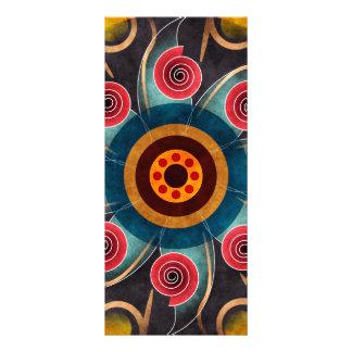Tarjeta floral del estante del arte del vector del diseños de tarjetas publicitarias