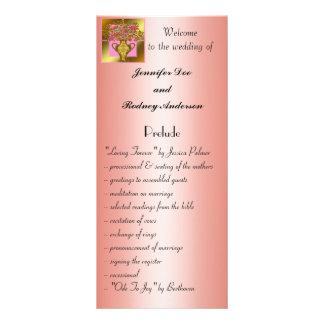 Tarjeta floral elegante del estante del programa d tarjetas publicitarias